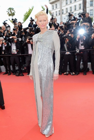 Tilda Swinton in Haider Ackermann