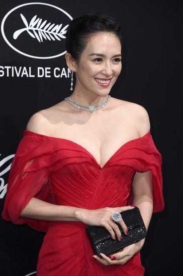 Zhang Ziyi in Atelier Versace-4