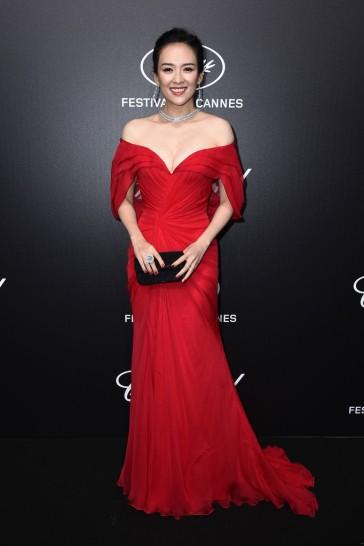 Zhang Ziyi in Atelier Versace