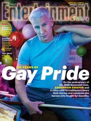 Anderson Cooper for Entertainment Weekly LGBTQ Issue June 2019