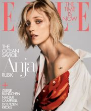 Anja Rubik for ELLE US July 2019 Cover
