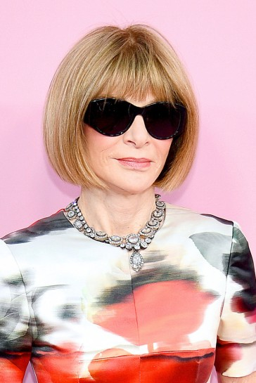 Anna Wintour in Alexander McQueen Fall 2019-1