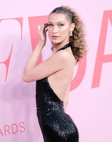 Bella Hadid inMichael Kors Fall 2019-6