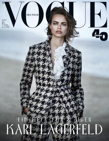 Brigit Kos Vogue Germany July 2019 Cover