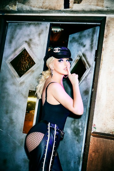 Christina Aguilera Galore May 2019-13