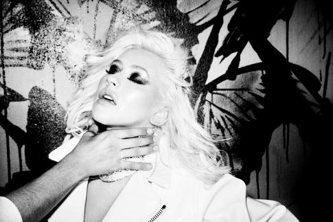 Christina Aguilera Galore May 2019-14