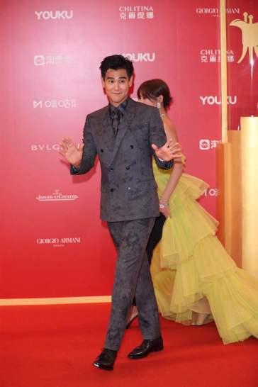 Eddie Peng in Berluti Fall 2019 Menswear-1