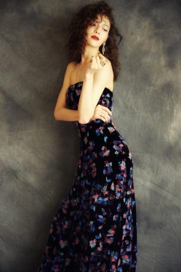 Elaine Zhong in Armani Privé Fall 2018 Couture-3