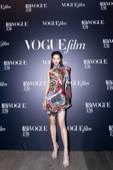 Elaine Zhong in Balmain Pre-Fall 2019