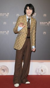 Jam Hsiao in Gucci Fall 2019-11