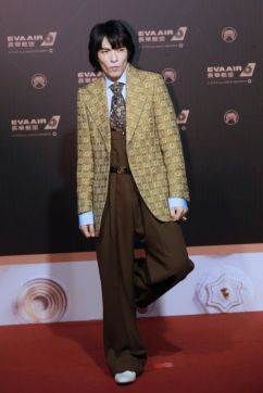 Jam Hsiao in Gucci Fall 2019-2
