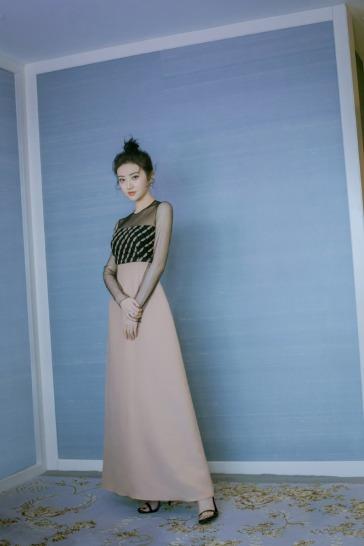 Jing Tian in Dior-1