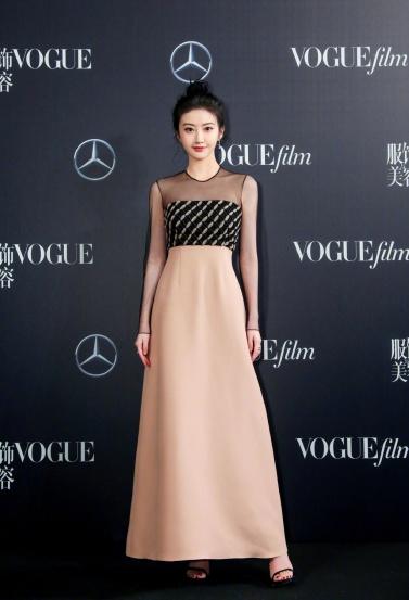 Jing Tian in Dior