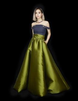 Jolin Tsai in Brandon Maxwell Spring 2019-1