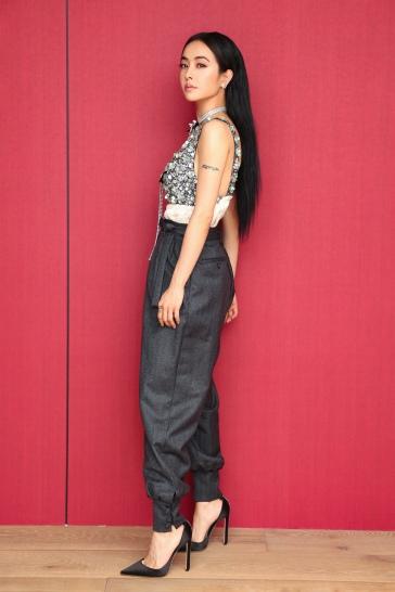 Jolin Tsai in Miu Miu Pre-Fall 2019-1