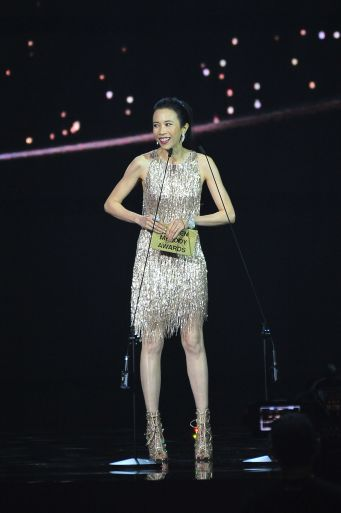 Karen Mok in Nicole + Felicia Fall 2019 Couture-2