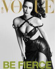 Kim Kardashian for Vogue Japan August 2019 Cover C