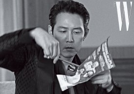 Lee Jung Jae for W Korea July 2019-1