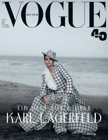 Luna Bijl Vogue Germany July 2019 Cover
