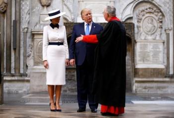 Melania Trump in Dolce & Gabbana-9