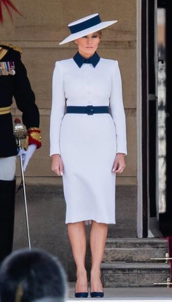 Melania Trump in Dolce & Gabbana