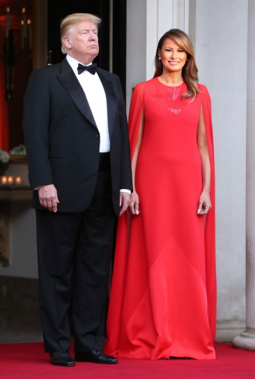 Melania Trump in Givenchy-1