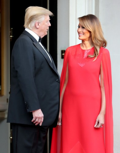Melania Trump in Givenchy-2