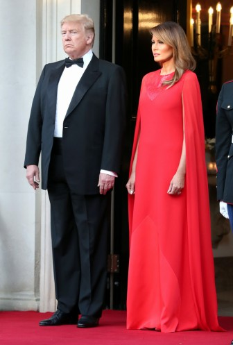 Melania Trump in Givenchy-3