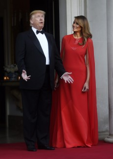 Melania Trump in Givenchy-5