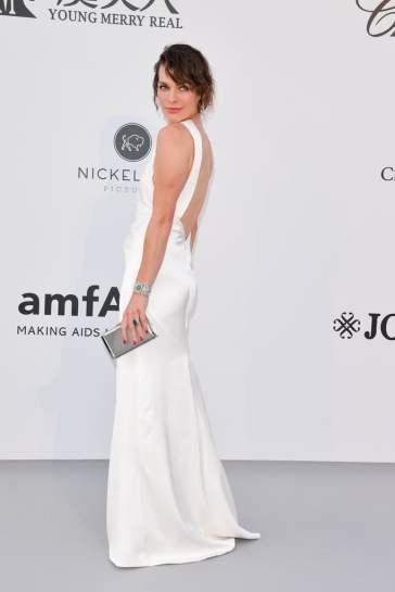 Milla Jovovich in Celine-1