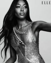 Naomi Campbell for ELLE US July 2019-2