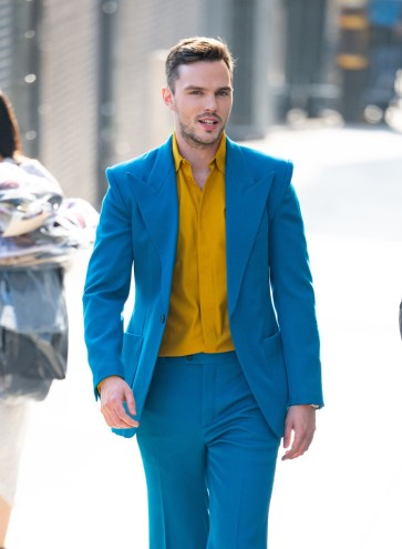 Nicholas Hoult in Givenchy Fall 2019 Menswear-8