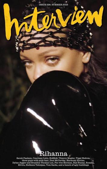 Rihanna Interview Magazine Summer 2019 Cover B