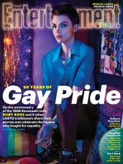 Ruby Rose for Entertainment Weekly LGBTQ Issue June 2019