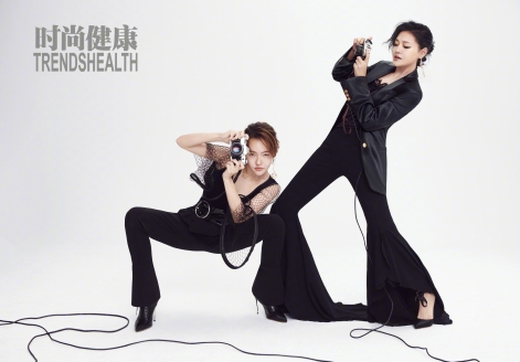 S Elephant Dee and Barbie Hsu for Trendshealth China July 2019-1