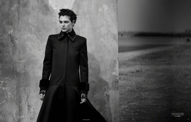 Vittoria Ceretti Vogue Germany July 2019-12
