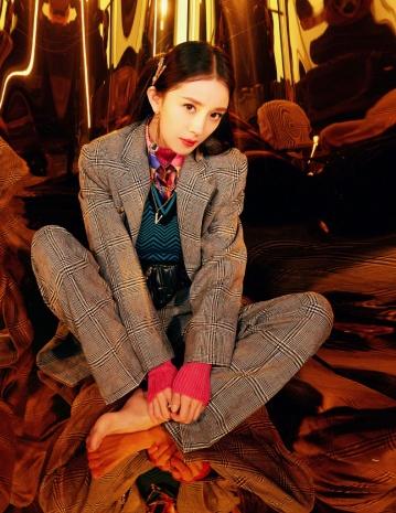 Yang Mi in Versace Fall 2019-2