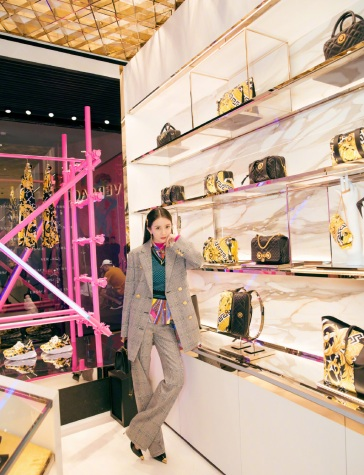 Yang Mi in Versace Fall 2019-7