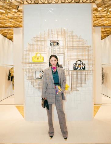 Yang Mi in Versace Fall 2019-9