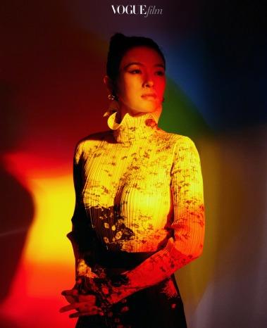 Zhang Ziyi in Givenchy Fall 2019-1