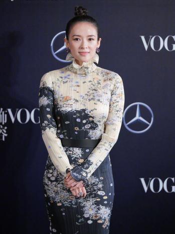 Zhang Ziyi in Givenchy Fall 2019-2