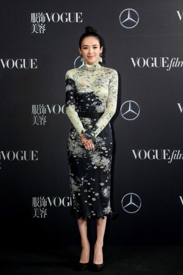 Zhang Ziyi in Givenchy Fall 2019