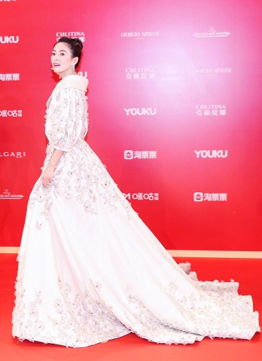 Zhang Ziyi in Ralph & Russo Spring 2017 Couture-2