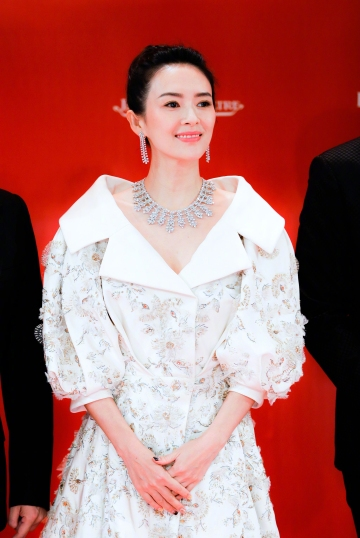 Zhang Ziyi in Ralph & Russo Spring 2017 Couture-4