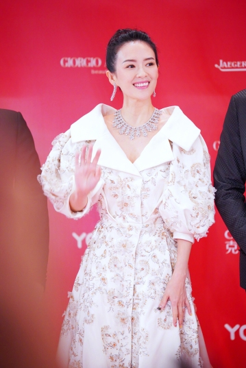 Zhang Ziyi in Ralph & Russo Spring 2017 Couture-5