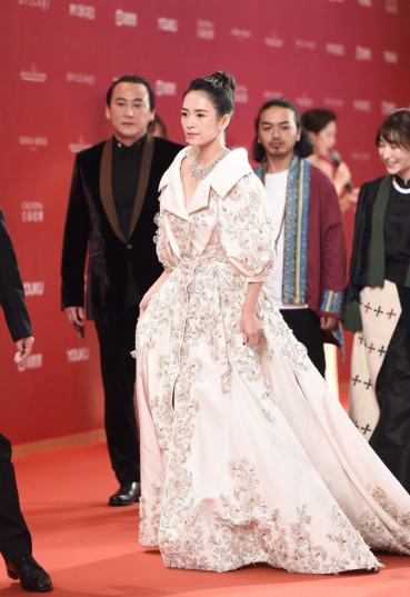Zhang Ziyi in Ralph & Russo Spring 2017 Couture-6