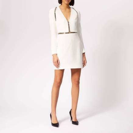 Alexander Wang Women's Long Sleeve Mini Dress - Ivory