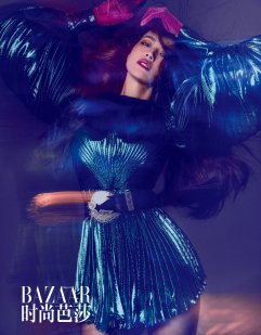 Shu Qi for Harper's Bazaar China August 2019-8