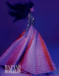 Shu Qi for Harper's Bazaar China August 2019-9