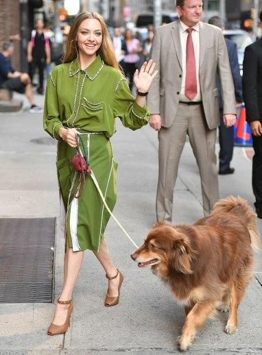 Amanda Seyfried in Burberry Fall 2019-4